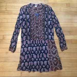 Tiny | Anthro Mollie Dropwaist Shirt Dress Tunic